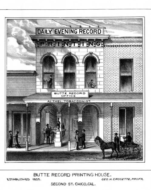 Butte Record Office